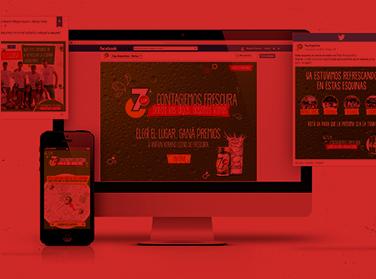 7UP | Activación Digital (Humo Rojo)