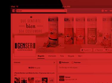 Genser - Social Media (Humo Rojo)