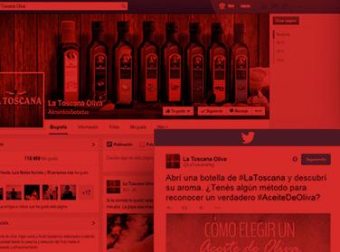 La Toscana | Social Media (Humo Rojo)